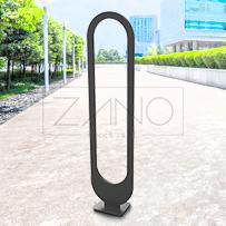 stojak rowerowy ze stali czarnej